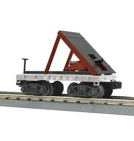 MTH - RailKing 3076439 - Flat Car W.A.R.R.w/Cannon