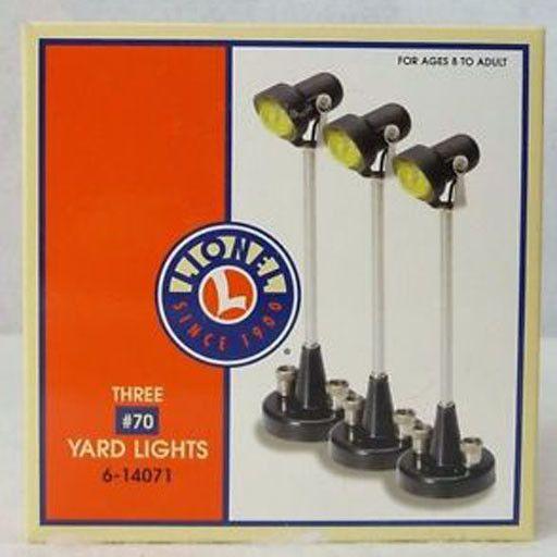 Lionel 14071 - # 70 YARD LIGHTS 3 pk