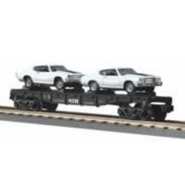 MTH - RailKing 307680	 - 	FLAT CAR W/1970 CHEVELLE