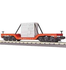 MTH - RailKing 308301 - Flat Car W/TRANSFORMER DIE CAST