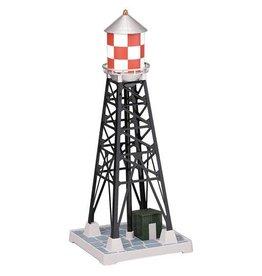 MTH - RailKing 309029 - #193 INDUSTRIAL WATERTOWER - Red & White Checkered Railking