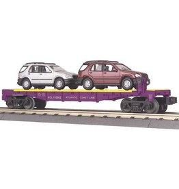 MTH - RailKing 3076056 - FLAT W/1997 MERCEDES BENZ