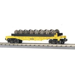 MTH - RailKing 307668 - FLAT W/8 WHEEL SETS MTH