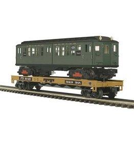 MTH - RailKing 2098589 - FLAT W/SUBWAY LoV GREEN