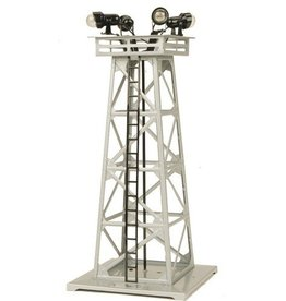 MTH - RailKing 3011078	 - 	FLOODLIGHT TOWER SILVER #395
