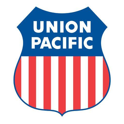 """CUSTOM 26295 - UNION PACIFIC SHIELD Builders Plaque Railroad Emblem 16"""""""