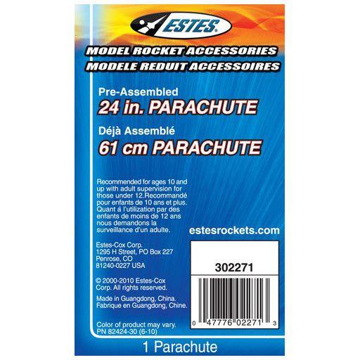 ESTES 2271 - ROCKET 24 Inch PRINTED PARACHUTE