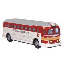 MTH - RailKing 3050060 -  BUS DIE CAST Milwaukee Road