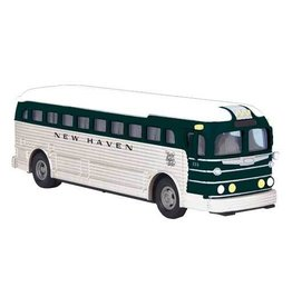 MTH - RailKing 3050058	 - 	 BUS DIE CAST NEW HAVEN