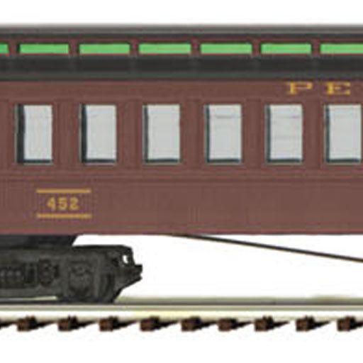 MTH - Premier 2062003 -  3-Car 64' Woodsided Passenger Set