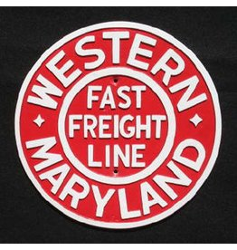 CUSTOM 26234	 - 	WESTERN MARYLAND Railroad Builder Plate