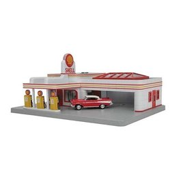 MTH - RailKing 309182	 - 	GAS STATION SHELL OPER.