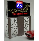 Miller Engineering 5061 - ROUTE 66 BILLBOARD
