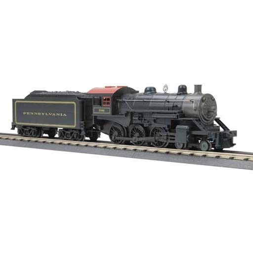 MTH - Rugged Rails 3310330	 - 	4-6-0 PRR Steam Engine With Loco-Sound