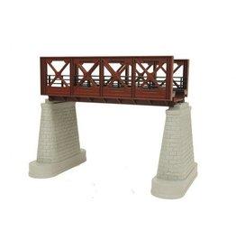 MTH - RailKing 401104 - GIRDER BRIDGE 1 Track RUST