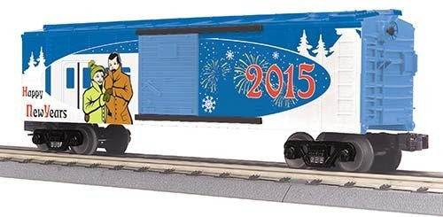 3074781	 - 	RTR NEW YEAR BOX CAR
