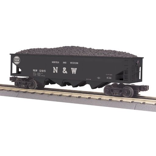 MTH - RailKing 307525	 - 	4-Bay Hopper Car w/Operating Co