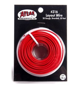 ATLAS 3160	 - 	WIRE # 316 RED
