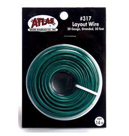 ATLAS 317	 - 	WIRE # 317 GREEN