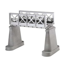 MTH - RailKing 401102 - Girder Bridge Silver 1 Track