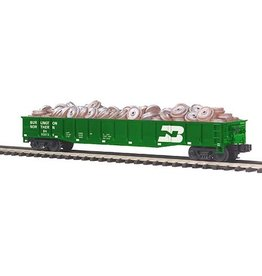 MTH - Premier 2098825	 - 	Gondola B/N w/Wheel Scrap Load