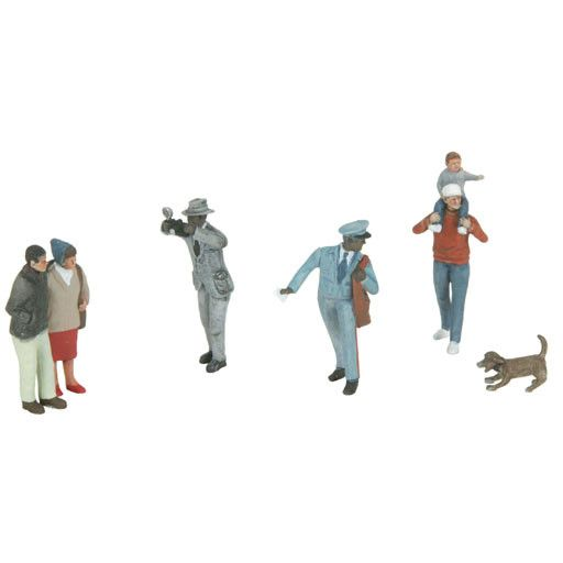 MTH - RailKing 3011073 - 6-Piece Figure Set #11