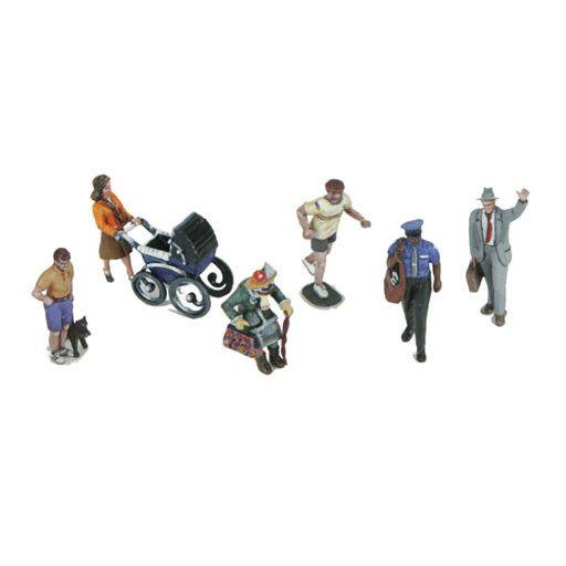 MTH - RailKing 3011075 - 6-Piece Figure Set #12