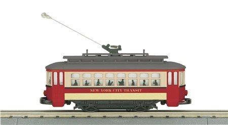 305139 - NY TRANSIT BUMP-N-GO TROLLEY