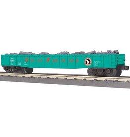 MTH - RailKing 3072100 - GONDOLA GREAT NORTHERN W/JUNK