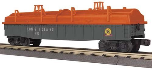 MTH - RailKing 3072076 - Gondola Long Island W/Covers