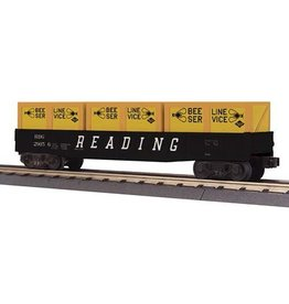 MTH - RailKing 3072116 - GONDOLA READING W CRATES