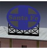 Miller Engineering 880551 - SANTA Fe BILLBOARD