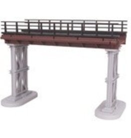 MTH - RailKing 401048	 - 	O Bridge Girder w/Steel Elevate