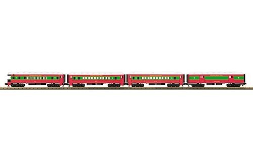 MTH - Rugged Rails 336265 - CHRISTMAS 4-CAR O-27 MAD PASS SET
