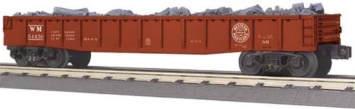 MTH - RailKing 3072098	 - 	GONDOLA WEST.MARLAND W/JUNK