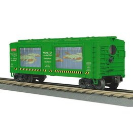 MTH - RailKing 3079301	 - 	ACTION CAR ALLIGATORS