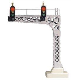 MTH - RailKing O Scale Cantilevered Signal Bridge