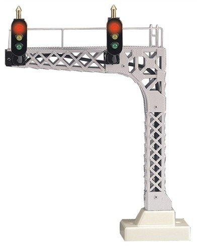 MTH - RailKing O Scale Cantilevered Signal Bridge
