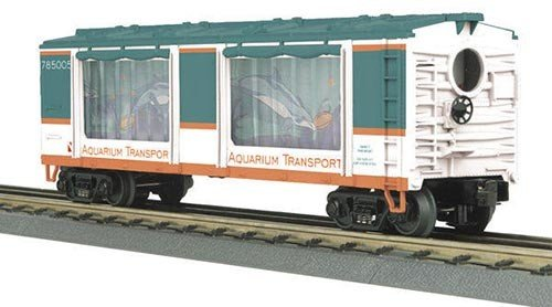 MTH - RailKing 3079113	 - 	Operating Aquarium Car - Dolphin