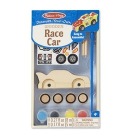 Melissa & Doug 8829 - M&D RACE CAR - PAINT SET - DYO