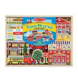Melissa & Doug 4796 - M&D - WOODEN TOWN PLAY SET