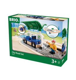 BRIO BRIO - CITY ROAD SET