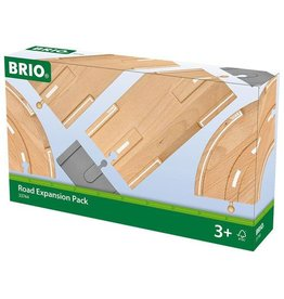 BRIO ROAD EXPANSION PACK - Wooden Track