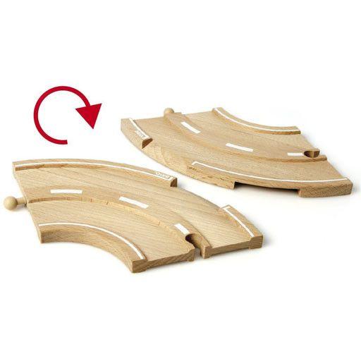 BRIO BRIO - ROAD EXPANSION PACK - Wooden Track