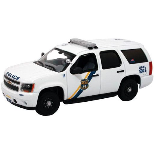 Mth Railking 3050078 Chevy Tahoe Police Cruiser Philadelphia Pa Bussinger Trains Toys