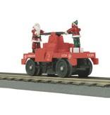 MTH - RailKing 302573 - HAND CAR CHRISTMAS