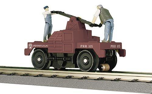 MTH - RailKing 302574 - HAND CAR P.R.R.