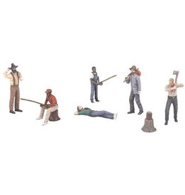 MTH - RailKing 3011057	 - 	OUTDOOR PEOPLE 6PCS
