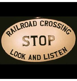 CUSTOM 26215	 - 	P.R.R OVAL R.R CROSSING - Plate