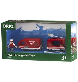 BRIO TRAVEL RECHARGABLE TRAIN - USB